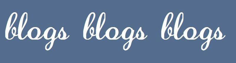 Blogs blogs blogs banner